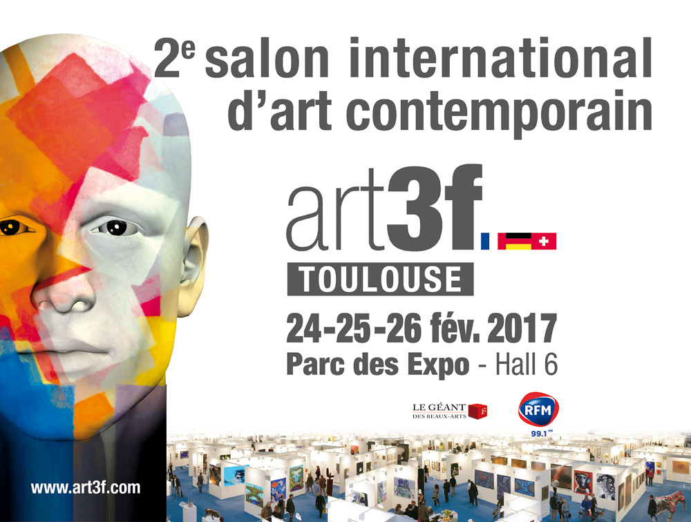 Salon Art3f Toulouse